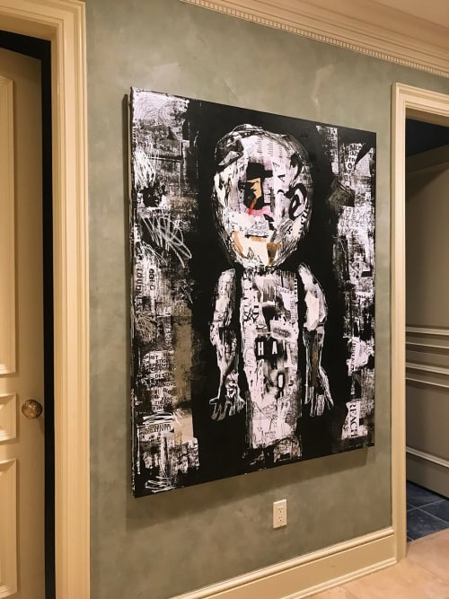 Paintings by Linda Zacks seen at Private Residence, Colts Neck - *SPARK