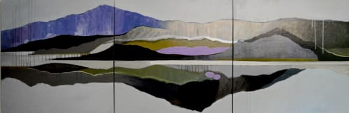 Paintings by Ellen Dieter seen at Private Residence, San Diego - Commissioned work