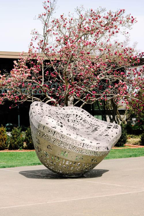 Public Sculptures by Creative Machines seen at Palo Alto Art Center, Palo Alto - Brilliance