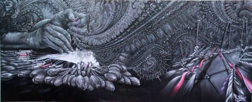 Camille Alberni aka Dege - Street Murals and Murals