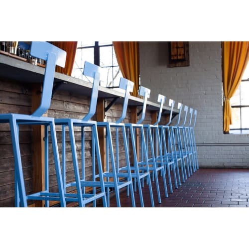Chairs by Saint Udio seen at Seabear Oyster Bar, Athens - Barstools