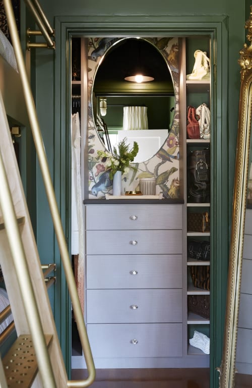 Furniture by California Closets seen at Private Residence, West Adams, Los Angeles - Cabinet