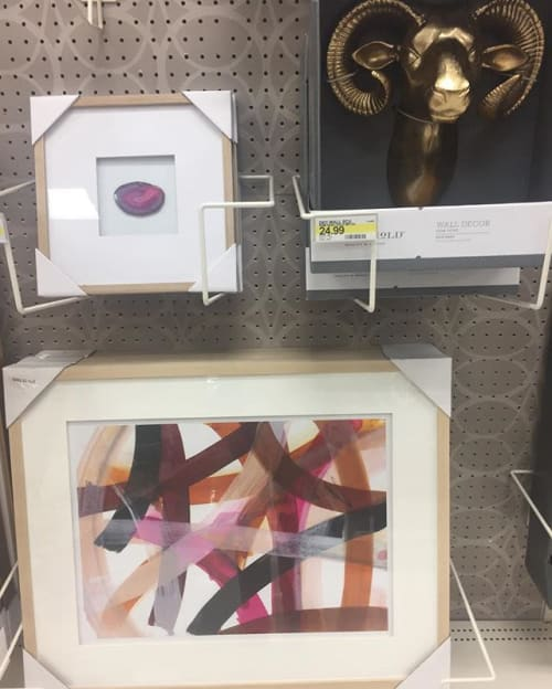 Paintings by Jodi Fuchs seen at Target, Philadelphia - Infinite Path ll