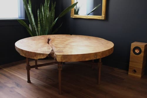 Tables by Oxford Street Furniture seen at Private Residence | Philadelphia, PA, Philadelphia - Maple Coffee Table
