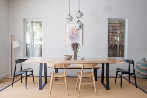 Pendants by Heather Levine seen at Single Family Residence in Venice, CA, Los Angeles - Heather Levine Pendant Light