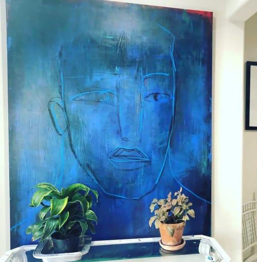 Paintings by Hugo Pérez Art seen at Private Residence, Houston - Blues Traveler