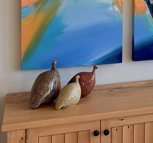 Paintings by Michael Mckee seen at Private Residence, Scottsdale - Ceruleanna