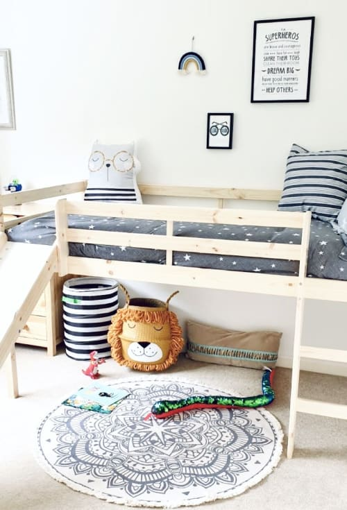 Beds & Accessories by Bellybambino seen at Private Residence, Drayton - Seagrass basket