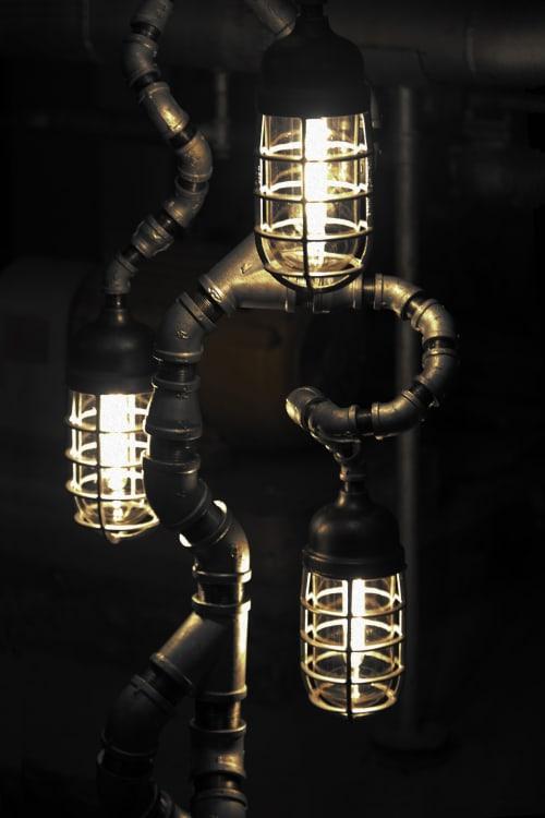 Lamps by Pandemic Design Studio seen at Philadelphia, Philadelphia - The Tree of Souls