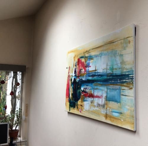 Paintings by Suzy Moger seen at Private Residence - Oil Painting