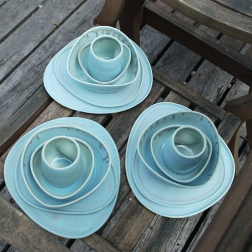 Tableware by Lynne Tan seen at Private Residence, Michigan City - Dinnerware Set
