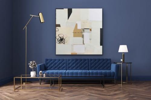 Paintings by silvia poloto seen at Creator's Studio, San Francisco - Wabi-Sabi # 95