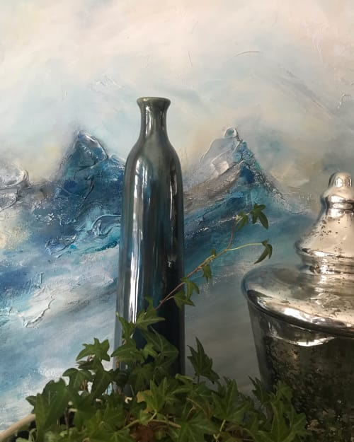 Paintings by Tracy Armstrong seen at Private Residence, Ottawa - On the Horizon