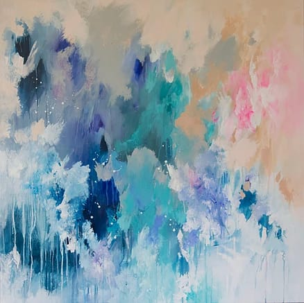 Paintings by Ruchi Rai seen at Private Residence, Sydney - Celestial Tide and Spirited Away