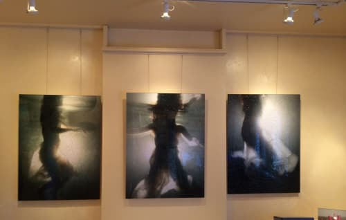 Photography by Andrea Bonfils at Private Residence, New York - Underwater mixed media