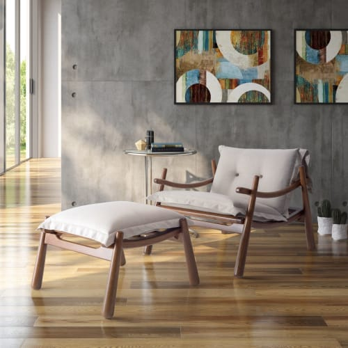 Chairs by FABRICIO RONCA seen at Private Residence, Gleba Fazenda Palhano - Fofa Armchair