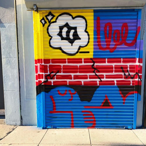 Graffiti Mural | Street Murals by Darin