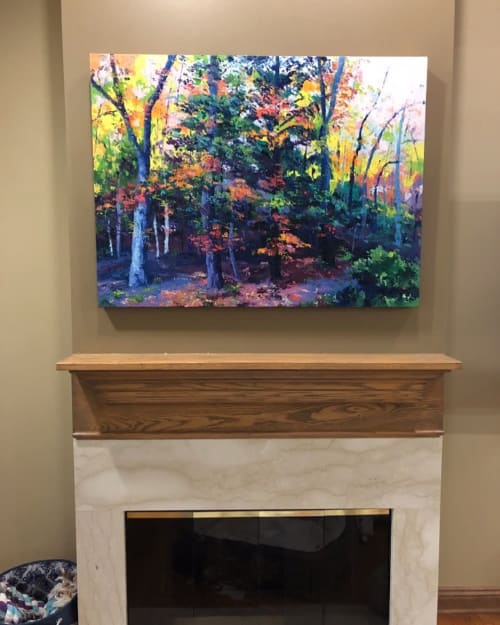 Paintings by Eileen Dorsey seen at Private Residence, Cleveland - Painting