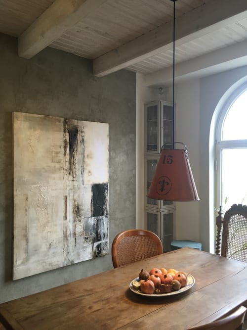 Macrame Wall Hanging by K A J  A R D seen at Private Residence, Hanko - V O L A R E