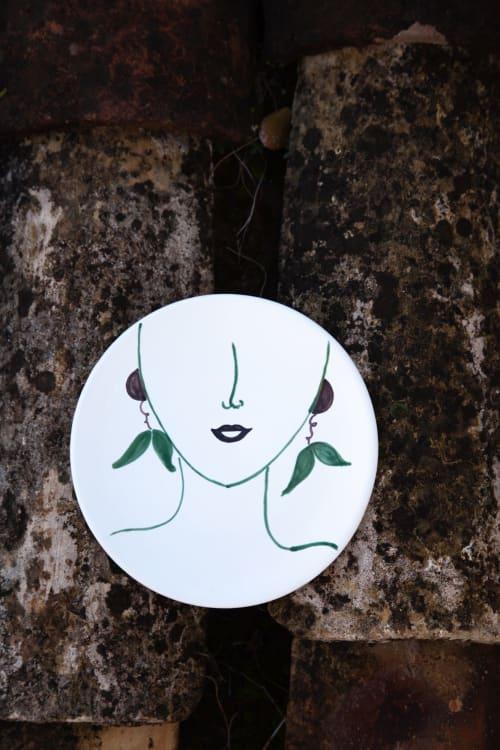 Ceramic Plates by Patrizia Italiano seen at Creator's Studio - Oliva soup plate only decor