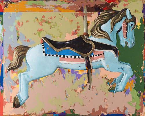 Paintings by David Palmer Studio seen at Pasadena, Pasadena - Horses #13