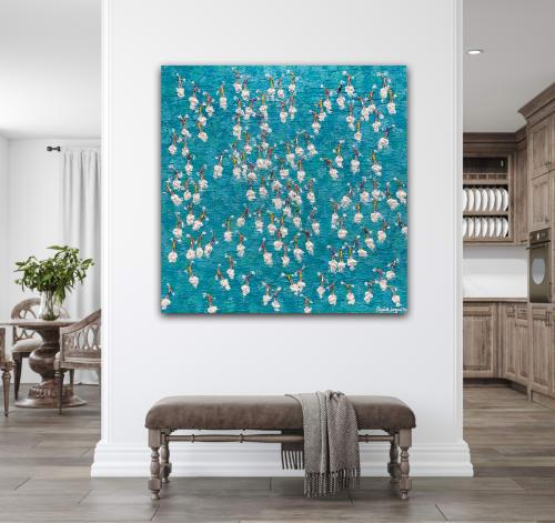 Paintings by Elizabeth Langreiter Art seen at Creator's Studio, Sydney - Sink or Swim