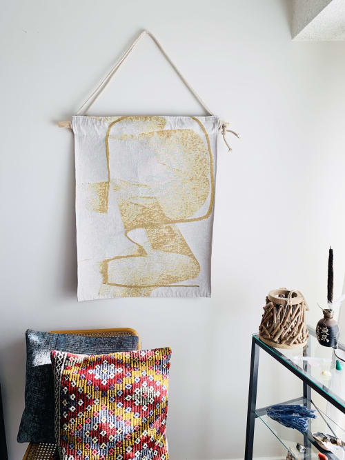 Wall Hangings by K'era Morgan seen at Creator's Studio, Los Angeles - Golden Grizzly