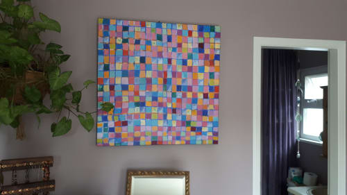 Paintings by Sonja Gartner seen at Private Residence, Vancouver - Spiral