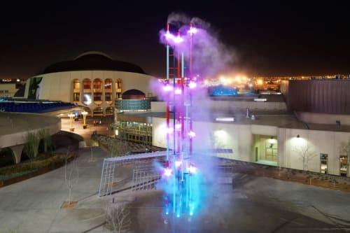 Public Sculptures by Matthew Geller seen at El Paso Chamber, El Paso - Chroma Booster