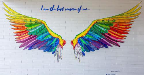 Liesl • Design Paint Mural - Murals and Art