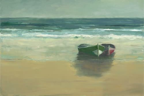 "Art & Wall Decor by YJ Contemporary seen at East Greenwich, East Greenwich - Anne Packard ""Outer Beach"""