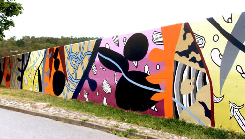 Elara Elvira - Street Murals and Public Art