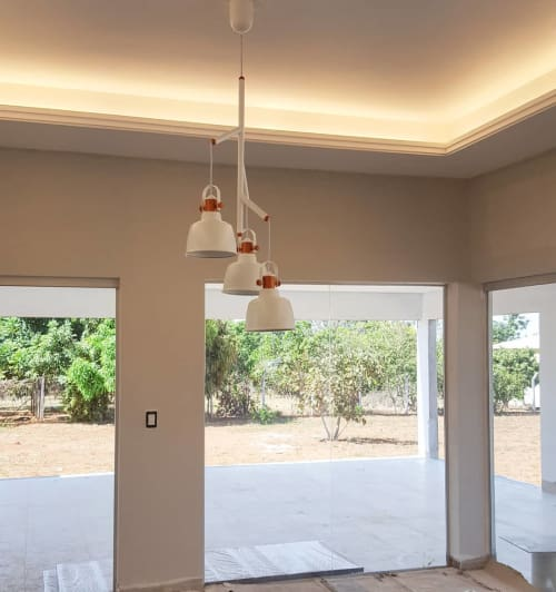 Pendants by Mumoon seen at Private Residence - Etel Pendant Lamp