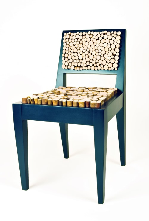 Chairs by Annie Evelyn seen at New York, New York - Squishy Sticks