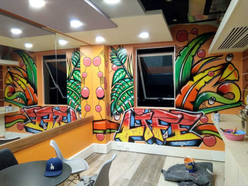 Murals by Mr Detail Seven seen at Pwc, Starehe - Wall Mural