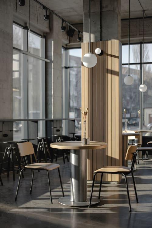 Interior Design by Paliychuk Olga Design seen at Boryspilʹ, Boryspil' - Pizzeria Pomidoros