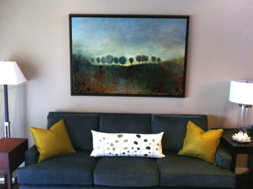 Paintings by Stacy D'Aguiar seen at Private Residence, Los Angeles - Illuminare