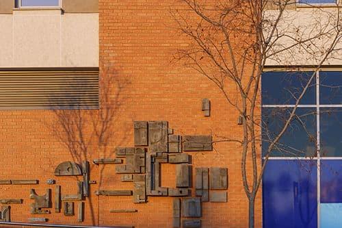 Sculptures by Parts & Labour seen at Loftus Park, Pretoria - Landmark