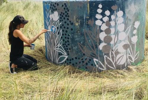 Street Murals by Ashley Rose seen at Eureka, Eureka - Samoa Peninsula Mural