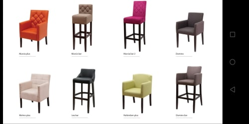 Chairs by ADRIA IN seen at Croatia - BAR CHAIR