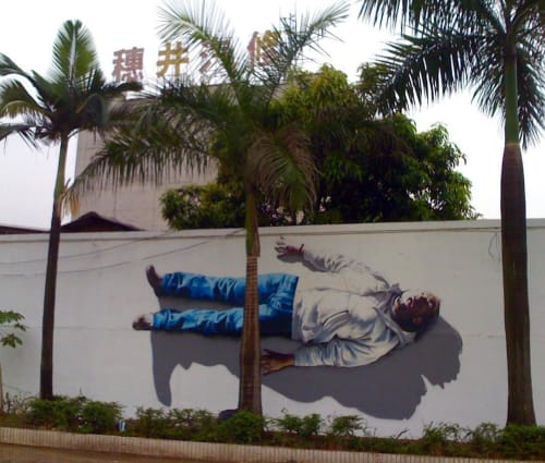 Street Murals by TASSO seen at Quanzhou, Quanzhou - Mural