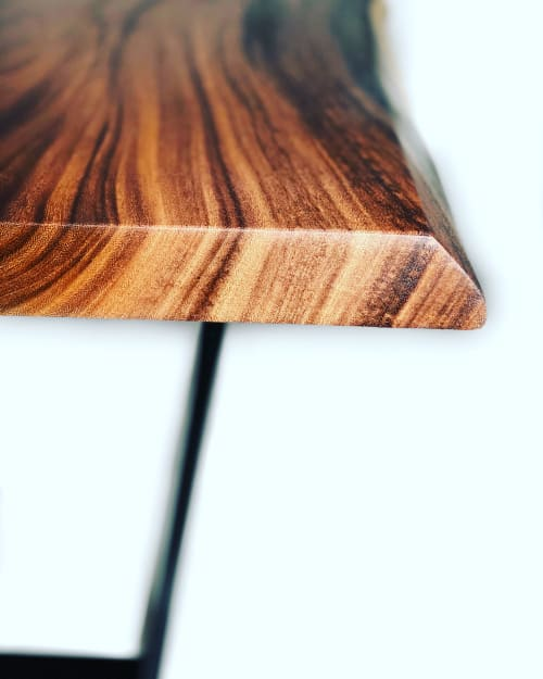 Monkey Pod Dining + Bench Collection | Tables by Live Edge Lust