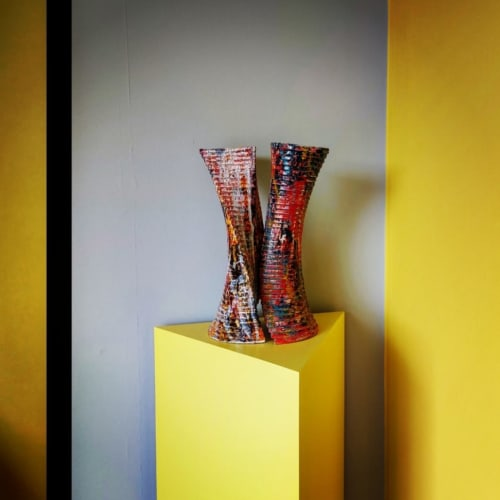 Sculptures by Paul Morley seen at Private Residence, Brighton - Semi-Mojo