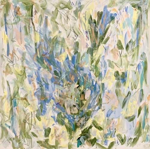 Paintings by Erin Fuge Fine Art seen at Private Residence - Spring Burst