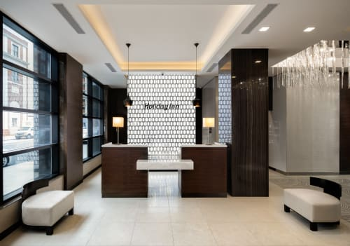 Interior Design by Lemay + Escobar seen at Holiday Inn Brooklyn Downtown, Brooklyn - Interior Design