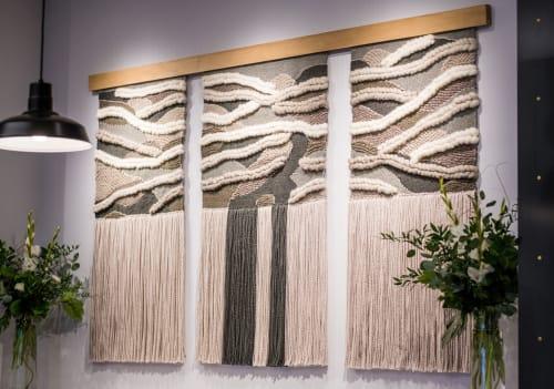 Wall Hangings by Spruce & Linen seen at lululemon, Grande Prairie - Kakwa