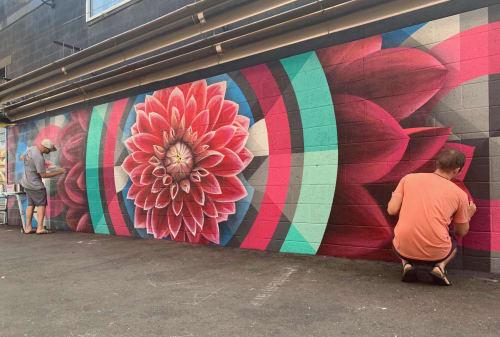 Street Murals by Jason T. Graves seen at EXDO, Denver - Crush Walls 2019