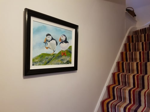 Paintings by Carolina Arbuthnot seen at Private Residence, Solihull - First Catch