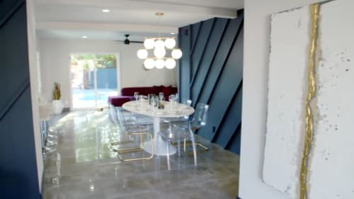 Tiles by Audrey Lane seen at Private Residence, Palm Springs - Sophia White
