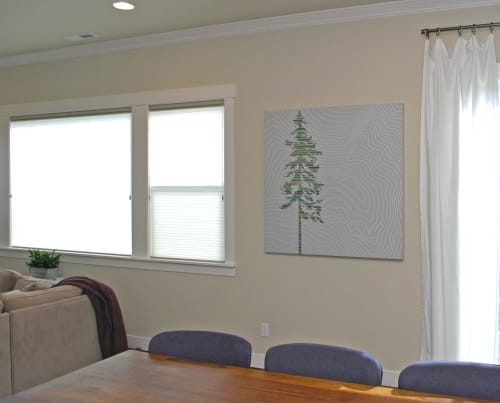 Paintings by Christopher Original at Private Residence, Portland - Lone Fir Painting
